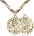 14kt Gold Filled St. Joan of Arc Pendant 0193-4