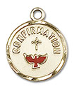 14kt Gold Confirmation Medal 0601X