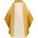 Chasuble Damiano White 1-16