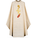 Chasuble Pascal White 2155
