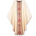 Chasuble Dupion with Regina Orphery 2749