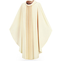 Chasuble Brugia Ornata White 3111
