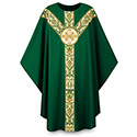Chasuble Regina with Hand Embroidered Emblem 3170