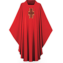 Chasuble Dupion Red 3173