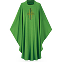 Chasuble Dupion Green 3174