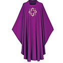 Chasuble Dupion Purple 3175