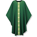 Chasuble Dupion Orphrey Cross Motif 3260