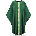 Chasuble Dupion Green 3260