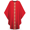 Chasuble Dupion Red 3260