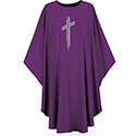 Chasuble Pius Purple 3265