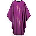 Chasuble Dupion Purple 3278