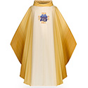 Chasuble Embroidered Eucharistic Emblem 3291