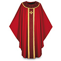 Chasuble Red Brugia 3358