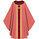 Chasuble Rose Brugia 3358
