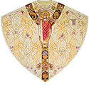Chasuble Moiré Christ the King 3870