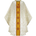 Chasuble White Rafael with Orphrey 3890
