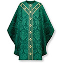 Chasuble Green Rafael St. Andrew's Cross Orphrey 3891