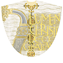 Chasuble Easter White 5006