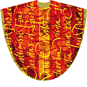 Chasuble Pentecost Red 5007