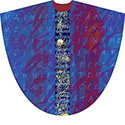 Chasuble Magnificat Purple 5009