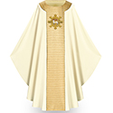 Chasuble Tiara White 5014
