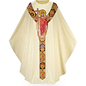 Chasuble Moiré Christ the King 5030