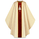 Chasuble Lamb of God White Tassilo 5052