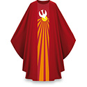 Holy Spirit Dove Chasuble Red Pius 5115