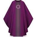 Crown of Thorns Chasuble Purple Pius 5117