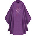 Chasuble Purple 5158