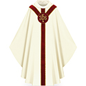 Chasuble White/Red 5179