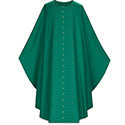 Chasuble Dark Green 5225