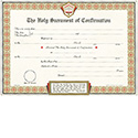 Certificate Confirmation Pad of 50 1045