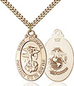 14kt Gold Filled St. Michael Pendant 1171-4