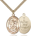 14kt Gold Filled St. Michael Pendant 1173-2