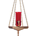 Hanging Sanctuary Lamp 11HSL20-A