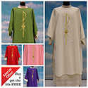 Dalmatic Set of 5 Special Promotion Chi Rho 1205-D