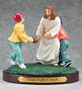 Figurine Football Jesus is My Coach 13976