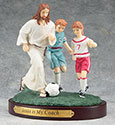 Figurine Soccer Jesus is My Coach 13977
