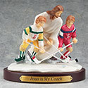 Figurine Hockey Jesus is My Coach 13978