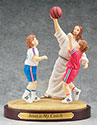 Figurine Basketball Jesus is My Coach 13981