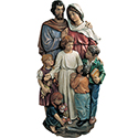 Relief Holy Family with Children 140/13