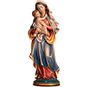 "Madonna of Peace 12"" Wood 164000"