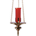 Sanctuary Lamp Hanging 19HSL36