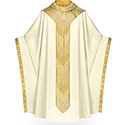 Chasuble Cantate & Seta White 2-3850