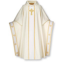 Monastic Chasuble Celtic Beige 2-3858