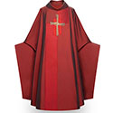 Chasuble Piano Red 90102