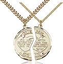 14kt Gold Filled Miz Pah Pendant 2012-2