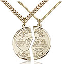 14kt Gold Filled Miz Pah Pendant 2012-4