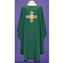 Chasuble Hunter Embroidered Cross 2013